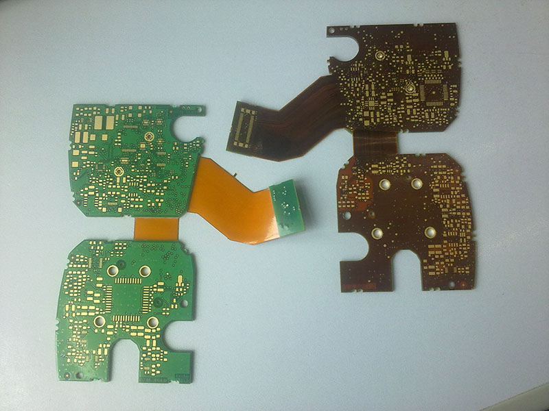 C4Rigid- Flexible pcb